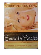 Christina Aguilera Poster Back To Basics