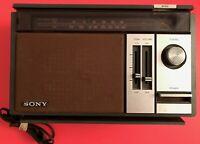 Vintage Sony Model ICF-9540W, FM/AM 2Band Radio