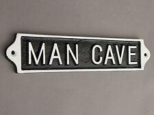 'The Man Cave 'Panneau de Porte Abri Garage Vintage Fonte Métal Papa Cadeau
