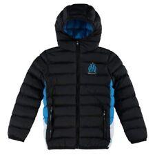 Olympique Marseille Football Padded Puffa Jacket Kids 3 4 Years Boys Coat Hoodie