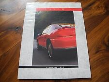 1993 93 PLYMOUTH LASER BROCHURE RS TURBO AWD