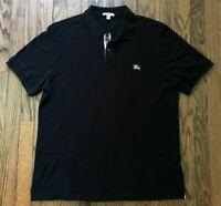 Burberry Brit Mens Nova Checker Short Sleeve Polo Shirt Size XL