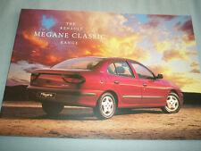 Renault Megane Classic range brochure Nov 1996