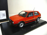 1:18 NOREV VW Golf II  2 CL rot red  NEU NEW