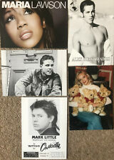 26 Original Celebrity Postcards and Pictures