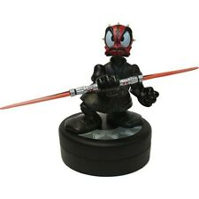 Disney Star Wars Tours 2011 - Donald Duck as Darth Maul Figure & Pin - LE 1977