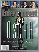 Entertainment Weekly Magazine Oscar Special Winners And Losers Issue Sam Kinison