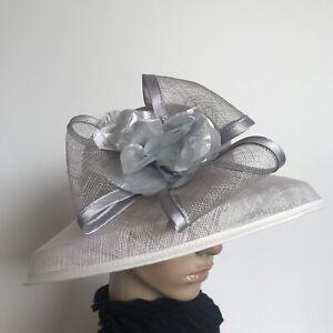 Ladies Women Elegant Organza Formal Race Wedding Hat Xams Birthday Gift H16