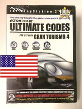 PS2 Action Replay ULTIMATE CODES for Gran Turismo 4 (NTSC-US - for US consoles)