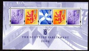2004 GB THE SCOTTISH PARLIAMENT Miniature Sheet MSS152 MNH Unmounted Mint UMM