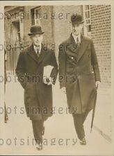 1939 British Cabinet Members Lord Chatfield & Lord Stanhope Press Photo