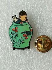 Pin's Pins Tintin et Milou bd Hergé comic strip Corner 60