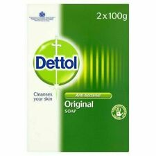 Dettol Antibacterial Original Bar Soap - Pack of 2 x 100g - Brand New & Sealed
