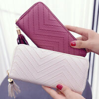 Women's Clutch Wallet Long Purse Leather Card Holder Lady Handbag Phone Bag Hot