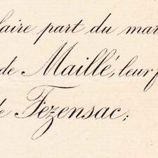 François Charles Edmond Maillé De La Tour Landry 1888 De Fezensac