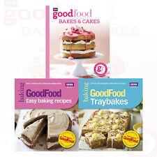 Good Food Collection 3 Books Set Traybakes,Easy Baking Recipes,Bakes & Cakes New