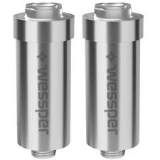 2X Filtro doccia Wessper Filtro acqua anticalcare per doccia contro cloro