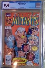 """New Mutants #87 (Marvel, 3/90) CGC 9.4 NM (1st Cable appearance!) """"KEY"""""""
