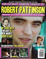 Robert Pattinson Magazine Special Tribute Issue Kristen Stewart Twilight Photos