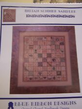 Blue Ribbon designs Indian Summer Sampler Counted Cross Stitch Chart