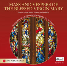 Various Composers : Mass and Vespers of the Blessed Virgin Mary CD (2016)