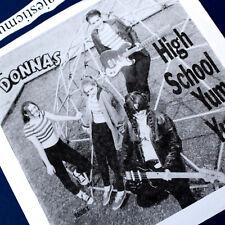 THE DONNAS FIRST RECORD HIGH SCHOOL YUM YUM 7 INCH VINYL 1995 NM VERY RARE