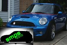 Mini Red out De-chrome beltline tape all models. Cooper, JCW, GP - RED GLOSS