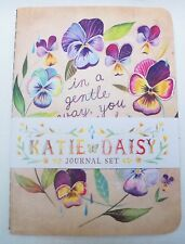 Madison Park Floral Wreaths 3 Pack Journals  - 64 Pages in Each
