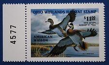 U.S. (Oh16) 1997 Ohio State Duck Stamp (Mnh) left plate # single
