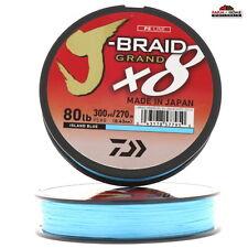 (2) Braid Fishing Line 80lb Test 300yds ~ New