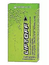 Herbalife Liftoff Energy Support 10 Tablets Lemon-Lime Blast