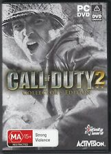 Call of Duty 2: Collector's Edition (PC, 2005) with Instruction Manual