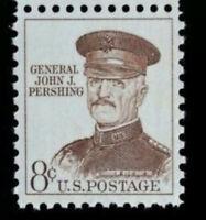 1961 8c General John J. Pershing Scott 1042A/1214 MNH OG Single Stamp