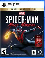 🎮 PS5 Spiderman Miles Morales Launch Edition PlayStation 5 Spider-Man - NO CODE