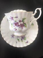 Vintage Royal Albert Tea Cup & Saucer Fine Bone China Made In England