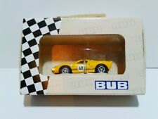 BUB #08105 Ford GT 40 1:87 yellow & black color 1/1000 pieces 2012 Edition