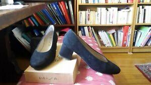 Escarpin UNISA KOLEA cuir noir T39