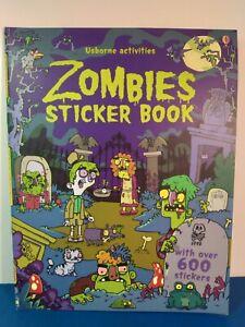 Usborne Activities Zombies Sticker Book