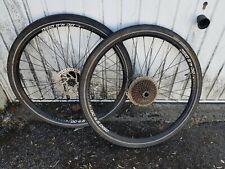 "Alexrims dc 4.5 disc 26"" wheels wheel set"