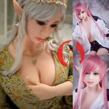 Oral Sex Doll Head for Men Love Toy Lifelike TPE Soft Sexual Silicone Tan Skin
