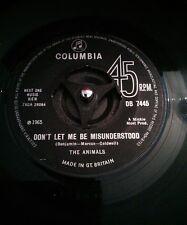 "The Animals – Don't Let Me Be Misunderstood Vinyl 1N Mispressing 7"" UK 1965"