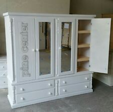 HAND MADE BUCKINGHAM4 DOOR QUAD WITH SHELVES** FULLY ASSEMBLED**