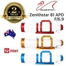 William Optics ZenithStar 81mm f/6.9 Imaging APO Refractor FPL-53 ED APO Doublet