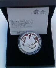 2018 Prince George Coin Silver Proof Cased With COA and Outer Box