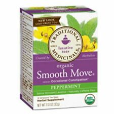 Organic Smooth Move Tea Peppermint 16 bags