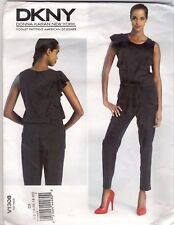 Vogue Sewing Pattern 1308 Misses Jacket Skirt Pants Size 6-10 Uncut Bill Blass