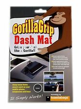 GORILLA GRIP NON SLIP DASHBOARD MAT KEYS SUNGLASSES PHONE CAR OFFICE HOME BOAT