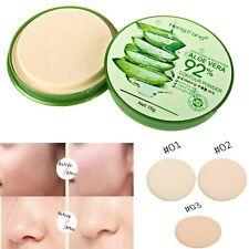 15g Aloe Kompaktpuder Puder Make up Gesicht-Puder Pressed Compact Powder -Cjcj