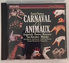 Saint-Saens Carnaval Des Animaux CD Philips D 135371 Alan Ridout