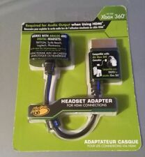 Xbox 360 Headset Audio Adapter For HDMI Connections Mad Catz ~ NEW SEALED